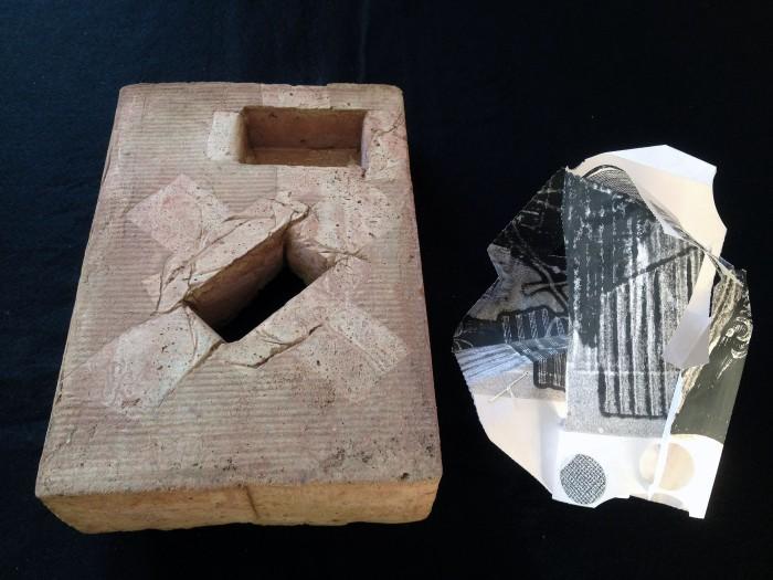 12 Guy Begbie architectural paper & casts 1706